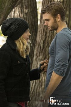 The wait is over! See Chloe Grace Moretz and Alex Roe in The 5th Wave, in theaters now! #Eviopeia #5thWaveMovie | click through to grab your tickets online