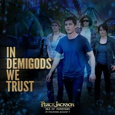 When ancient monsters threaten to destroy our world, in Demigods we trust. Percy Jackson: Sea of Monsters in theaters August Percy Jackson Movie, Percy Jackson Fandom, Percy And Annabeth, Annabeth Chase, Sea Of Monsters, Camp Jupiter, Daughter Of Poseidon, Wise Girl, Frank Zhang