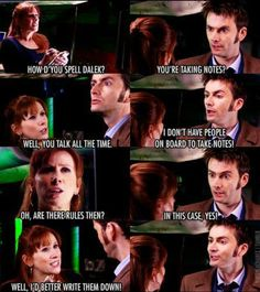 I love Donna! My favorite companion <<<< that last pic tho he looks like he's trying not to laugh
