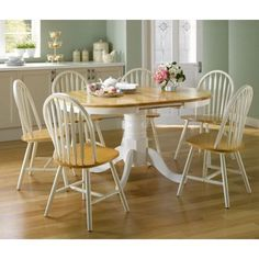 Hygena Rye White Dining Table and 4 Chairs Home Pinterest