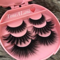 Package include: lashes w/ Case⭐️ Add Glue. Applying False Eyelashes, Applying Eye Makeup, Fake Lashes, Long Lashes, Mink Eyelashes, Eyelashes Grow, Eyelashes Makeup, Brows, Makeup Mistakes