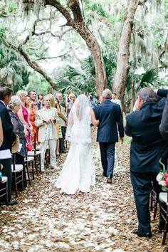 outdoor Florida ceremony | Brooke Images #wedding