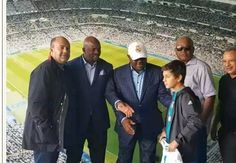 Nyesom Wike Meets With Cristiano Ronaldo In Spain (Photos)