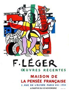 Léger Fernand : Affiche : Maison de la Pensée Française II