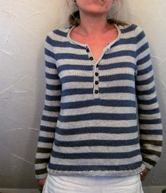 pattern 'Driftwood' by Isabell Kraemer ~ knit in a worsted 10ply yarn  FREE download on Rav