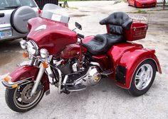 harley trikes | Harley Trike this is the only kind of harley u can have so u don't fall over