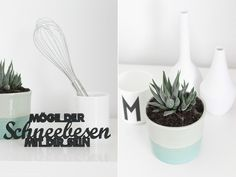 a peek in to @backbube 's urban jungle – mit den Mini Vasen von räder