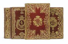 ALMANACH ROYAL ANNÉE BISSEXTILE M. DCC. LXXII. [... 1773, 1774, 1775]. PARIS, LE BRETON, 1772-1775.