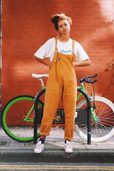 High Quality Corduroy Dungarees, in Mustard 'The Original' Handmade Dungarees Independently Designed in the UK by Lucy and Yak for Women and Men 100% Cotton