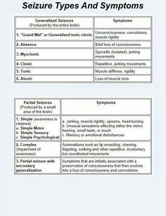 Kinds of seizures – free medical books Nursing Assessment, Icu Nursing, Pediatric Nursing, Nursing Tips, Nursing Degree, Nursing School Notes, Nursing Schools, Critical Care Nursing, Emergency Medicine