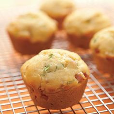 Ham and Cheese Morning Muffins