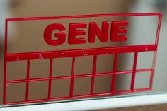 Personalized toothbrush chart. $8.00, via Etsy. Stick it on the mirror and use a dry erase pen!