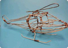 Wire Helicopter Made In Zambia