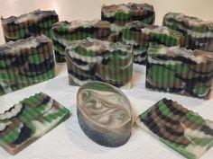 Camo soap would be great for gun show markets or majority men markets.