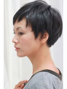 Door Bell hair Living【ドアベルヘアリビング】 カジュアルモード★黒髪ベリーショート
