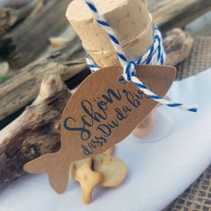 """Birthday Gift Baptism Confirmation communion Wedding maritime Fish """"Nice that you are there"""" Christmas Star Decorations, Christmas Tree With Gifts, Simple Christmas, Diy Crafts To Do, Upcycled Crafts, Best Wedding Gifts, Best Birthday Gifts, Advent Candles, Wedding Blog"""