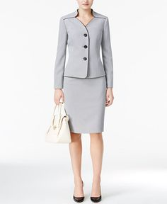 The 27 best workwear images on pinterest court attire work attire suit jacquard skirt suit women wear to work macys flashek Image collections