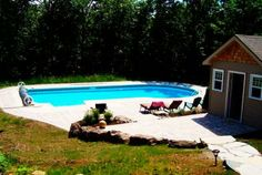 Discover new models of above-ground pools, semi-inground pools, in-ground pools and spas available at your Sima Canada dealer Semi Inground Pools, Pool Installation, In Ground Pools, Swimming Pools, Spa, Gallery, Outdoor Decor, Projects, Home
