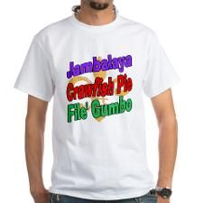 Jambalaya, Crawfish Pie, File Shirt