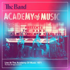 The Band: Live at the Academy Of Music 1971 [4CD/1DVD]: I actually have the 2 CD sampler, which is enough for me, but it's a great live performance. And of course, the songs with Dylan are cool also. #theband #bobdylan