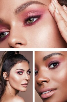 Introducing the New Pérsona Cosmetics Color Theory Eye Kit (Simply Sona) Green Brown Eyes, Brown Eyes Pop, Simply Sona, Pink Eyeshadow Look, Eye Makeup, Hair Makeup, Dry Face, Matte Pink, Cruelty Free Makeup