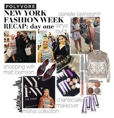 """""""DAY ONE NYFW"""" by minimalmanhattan on Polyvore featuring Tanya Taylor, Chantecaille and Topshop"""