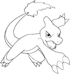 Get More Charmeleon Coloring Pages Free Collection To Download Coloringpages Pokemon Printable