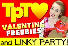 Tons of fab freebies for Valentine's Day and a linky party as well! Come link up and download a bunch of awesome resources!