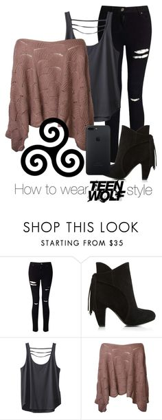 """Teen Wolf Style"" by toxic-17 ❤ liked on Polyvore featuring Miss Selfridge and Kavu"