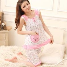 Buy 'BEAUTY PLAN – Pajama Set: Printed Top   Shorts' with Free International Shipping at YesStyle.com. Browse and shop for thousands of Asian fashion items from Taiwan and more!