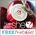 Free really really cute printables!