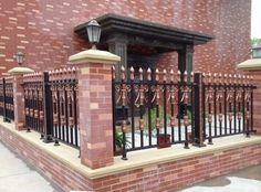 Aluminium profile for villa garden fence