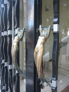 mermaid door handles! @Suzette Spencer -- you need!