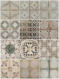 Beautiful old tiles