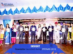 ‪#‎Department‬ of ‪#‎Applied‬ ‪#‎Sciences‬ (‪#‎Chemistry‬ Group) Launched its Newsletter (‪#‎INSIGHT‬) during PRYAAS 2015, in the presence of Ms. Ritu Sharma who is the ‪#‎Chief‬ ‪#‎Editor‬ of the newsletter.