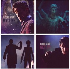 """If you want my life, come and get it"" from the Time of the Doctor Trailer"