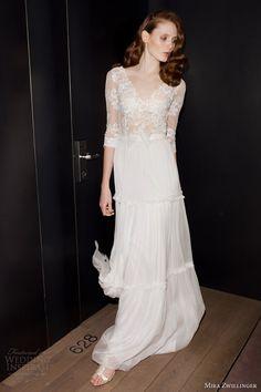 mira zwillinger 2014 bridal roxanna wedding dress sleeves
