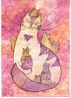 Kitty-cat by StaceyTram.deviantart.com on @deviantART