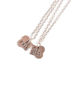 Forever Best Friends Necklace - Gold