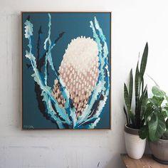 Anya Brock Banksia series