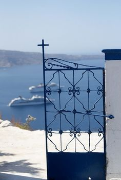 #Santorini , Greece http://www.greekweddings.com/destination-wedding-planning-in-n-greece/