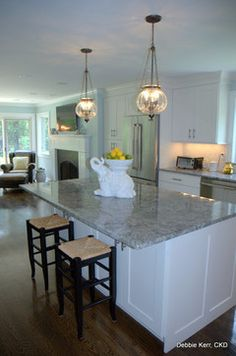 new azul aran kitchen transitional with granite toronto ...