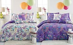 Bethany 5 Piece Reversible Comforter Sets