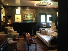 The South Orange, NJ. living room Tommy Hilfiger executive, Trent Wisehart