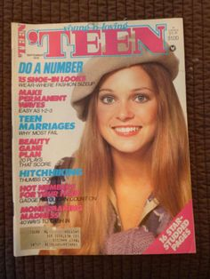 September 1978 cover with Cindy Adlesh