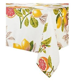 "Citrus Grove Spillproof Tablecloth 60"" x 104"" Oblong Easy... https://www.amazon.com/dp/B06XZ9X69B/ref=cm_sw_r_pi_dp_x_dda4yb9VDQYQQ"