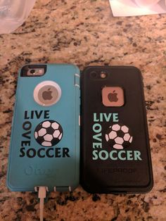 Check out this item in my Etsy shop https://www.etsy.com/listing/479806290/soccer-decal-soccer-iphone-decal-car