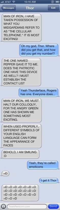 Avengers conversation - funny pictures - funny photos - funny images - funny pics - funny quotes - #lol #humor #funny