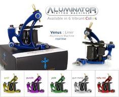 Aluminator Classic VENUS  Shape 8Wrap Tattoo Machine GOLD >>> Want additional info? Click on the image-affiliate link. #BeautySalonEquipment
