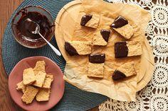 Scientifically Sweet: Buttery Pecan Press-in Shortbread